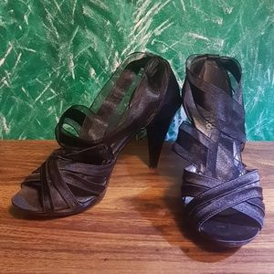 Danex Ankle Wrap Stiletto Heels